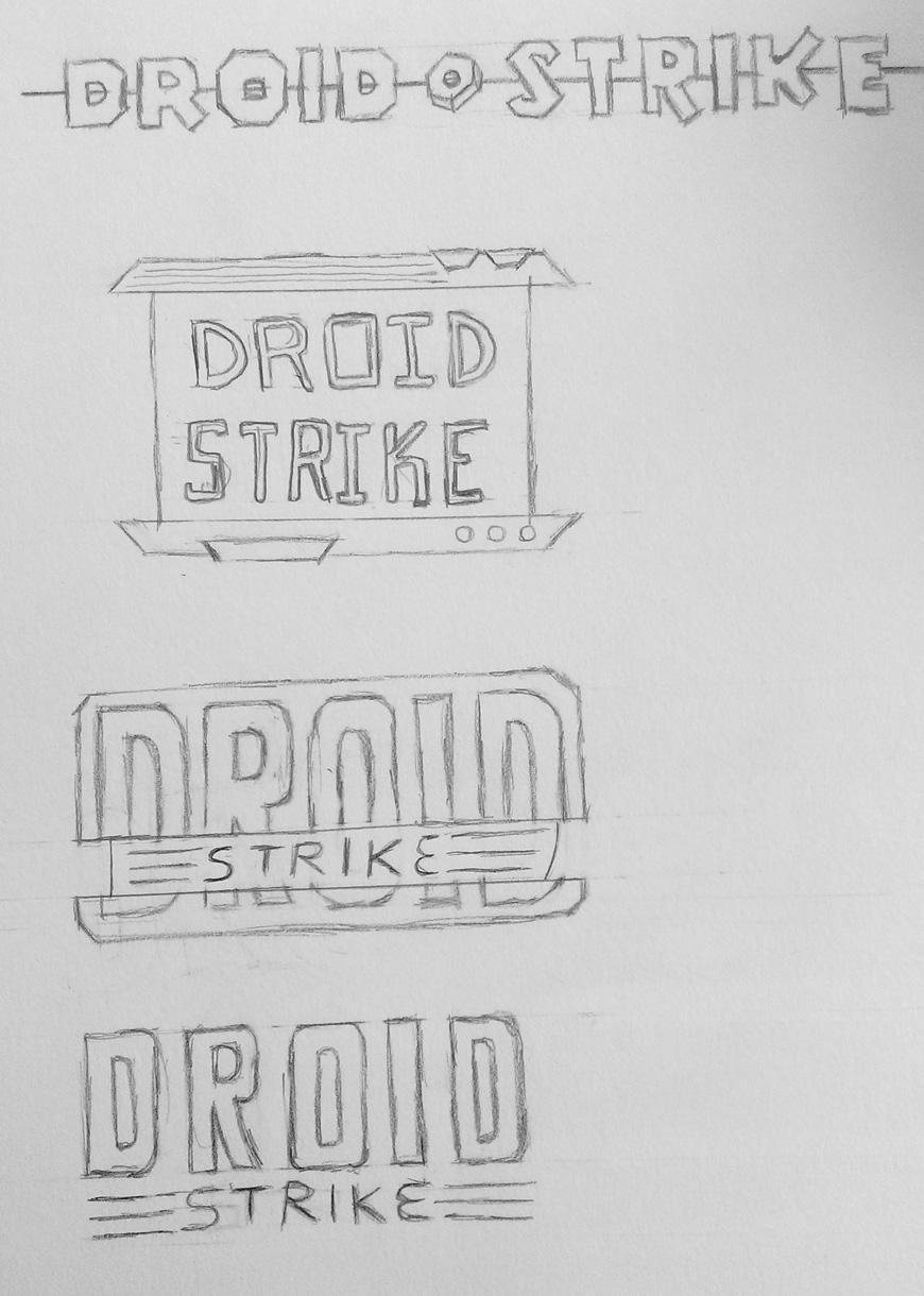 Droid Strike Blog Logo - image 1 - student project