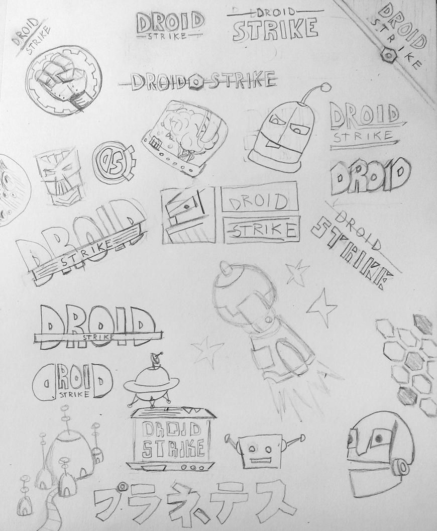 Droid Strike Blog Logo - image 2 - student project