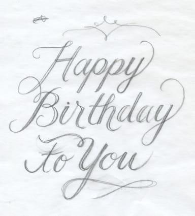 happy birthday - image 1 - student project
