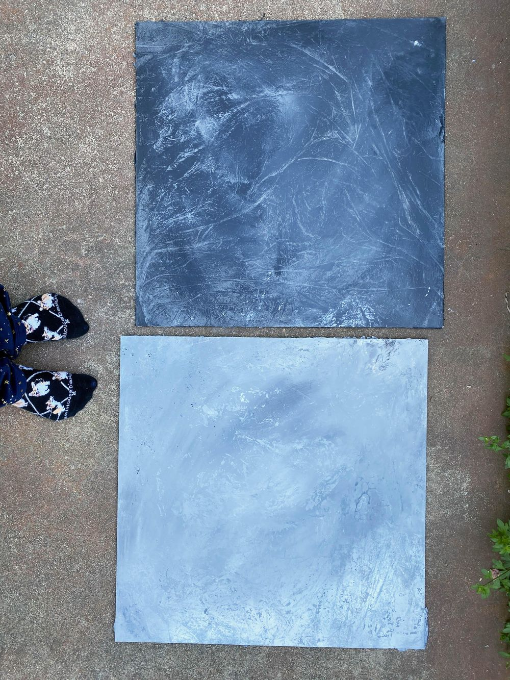 Concrete-Look Photo Backdrops - image 1 - student project