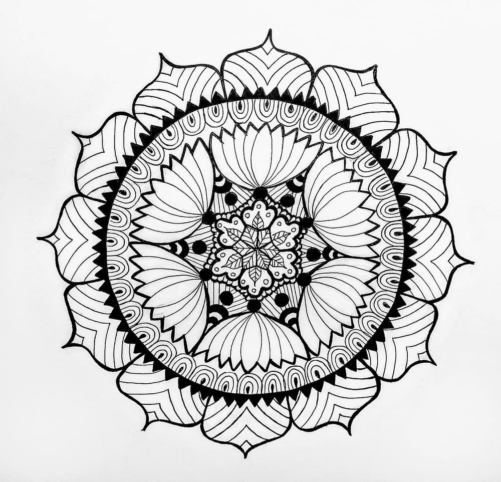 My Therapeutic Mandalas - image 1 - student project
