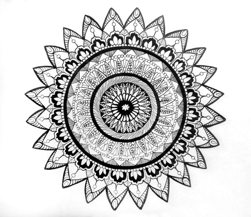 My Therapeutic Mandalas - image 2 - student project