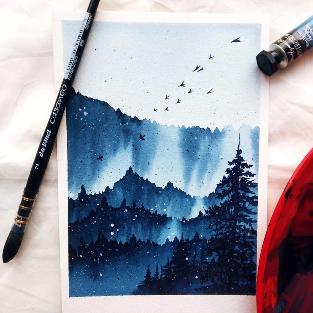 Serene landscapes - image 1 - student project