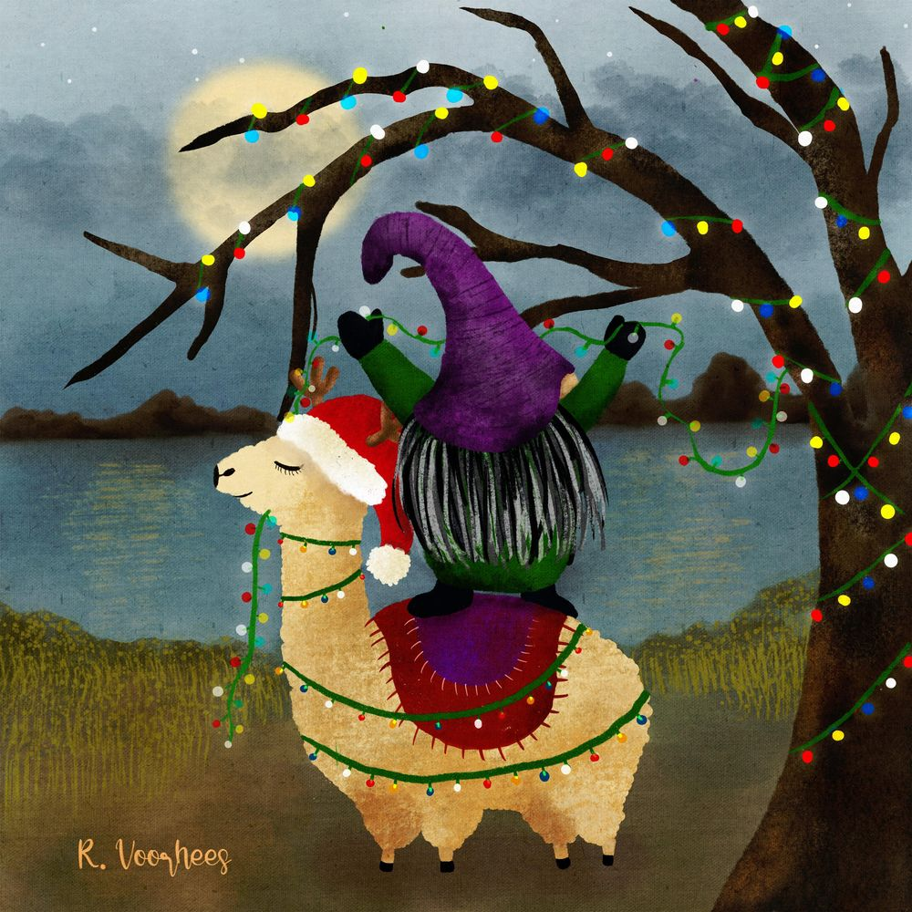 Whimsical Christmas - image 1 - student project
