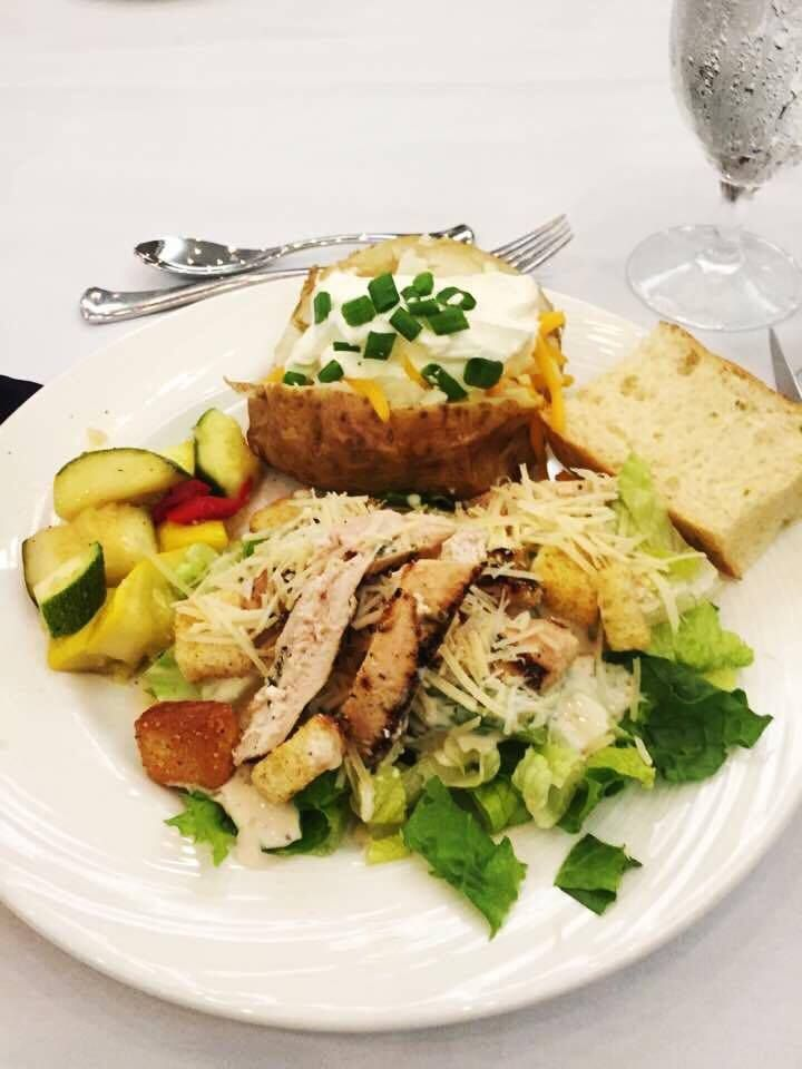 Goat Soup, Chicken Caesar Salad, and a Salmon Dill Burger on Toast - image 2 - student project