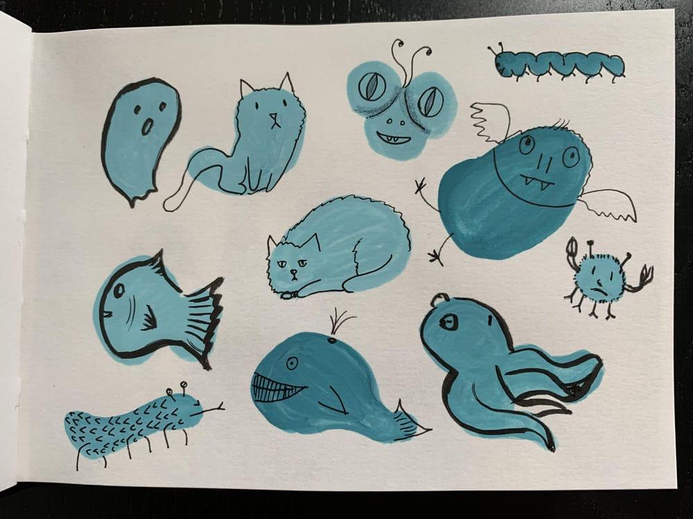 7 sketchbook prompts - image 1 - student project