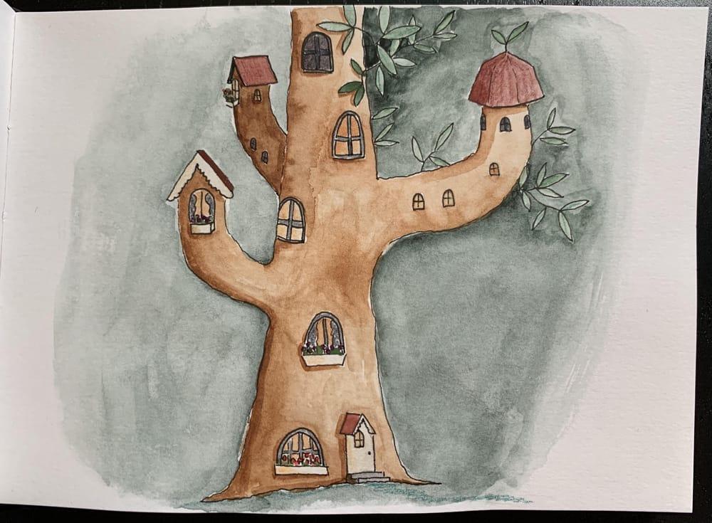 7 sketchbook prompts - image 5 - student project