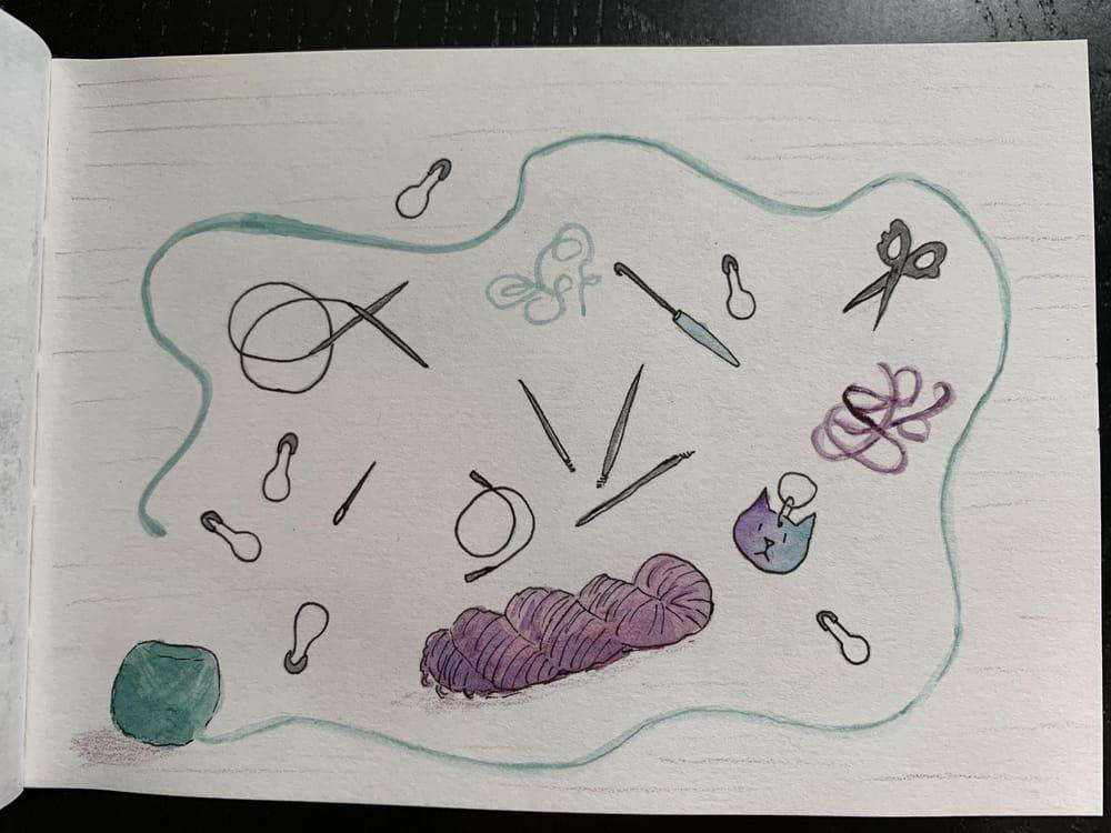 7 sketchbook prompts - image 3 - student project