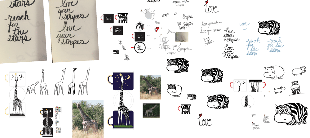 Zebra Stripes and Stars - image 2 - student project