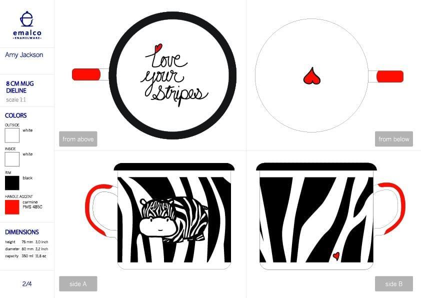 Zebra Stripes and Stars - image 5 - student project