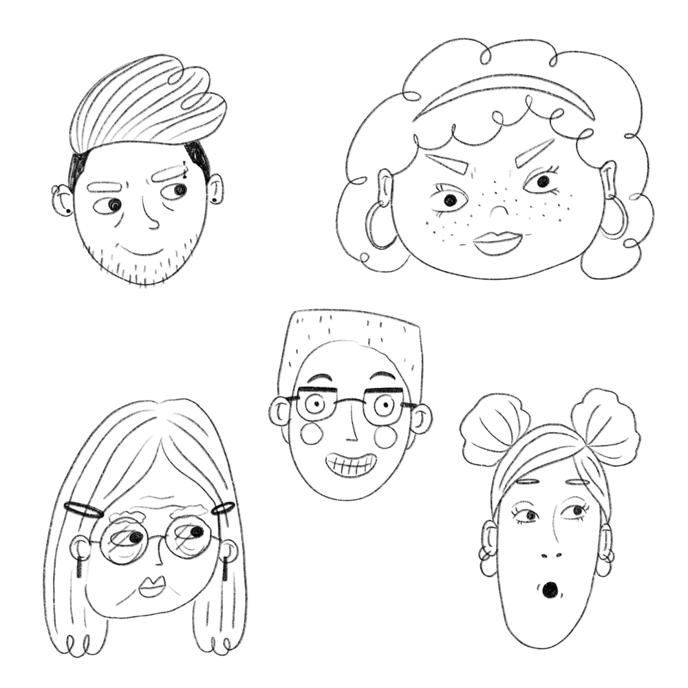 Fun With Faces: From Start to Finish - image 7 - student project