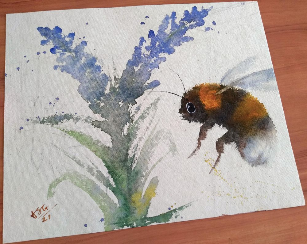 Bumble Bee - image 2 - student project