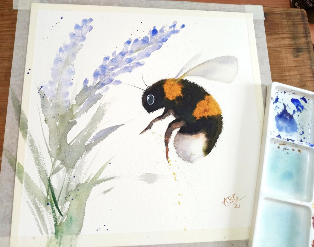 Bumble Bee - image 1 - student project