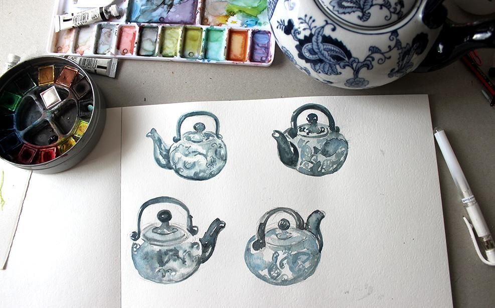 Watercolour story: Explore with colour - image 4 - student project