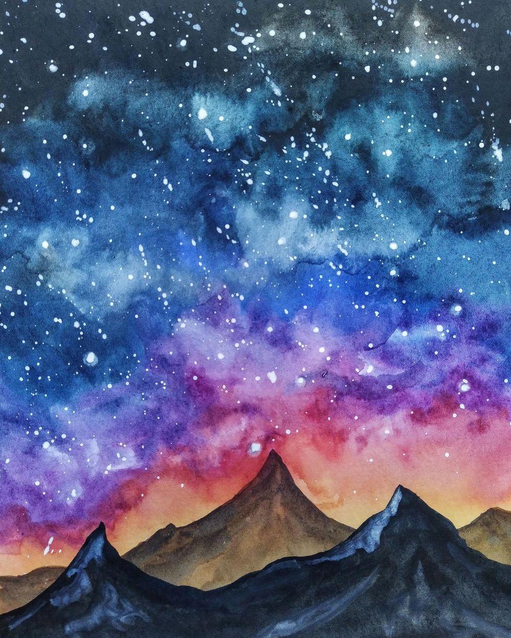 Night Galaxy - image 1 - student project