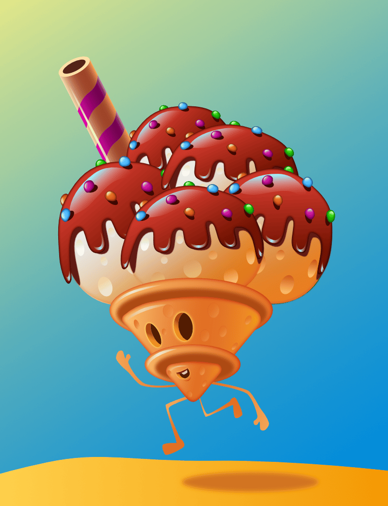 The ice cream fella - image 1 - student project