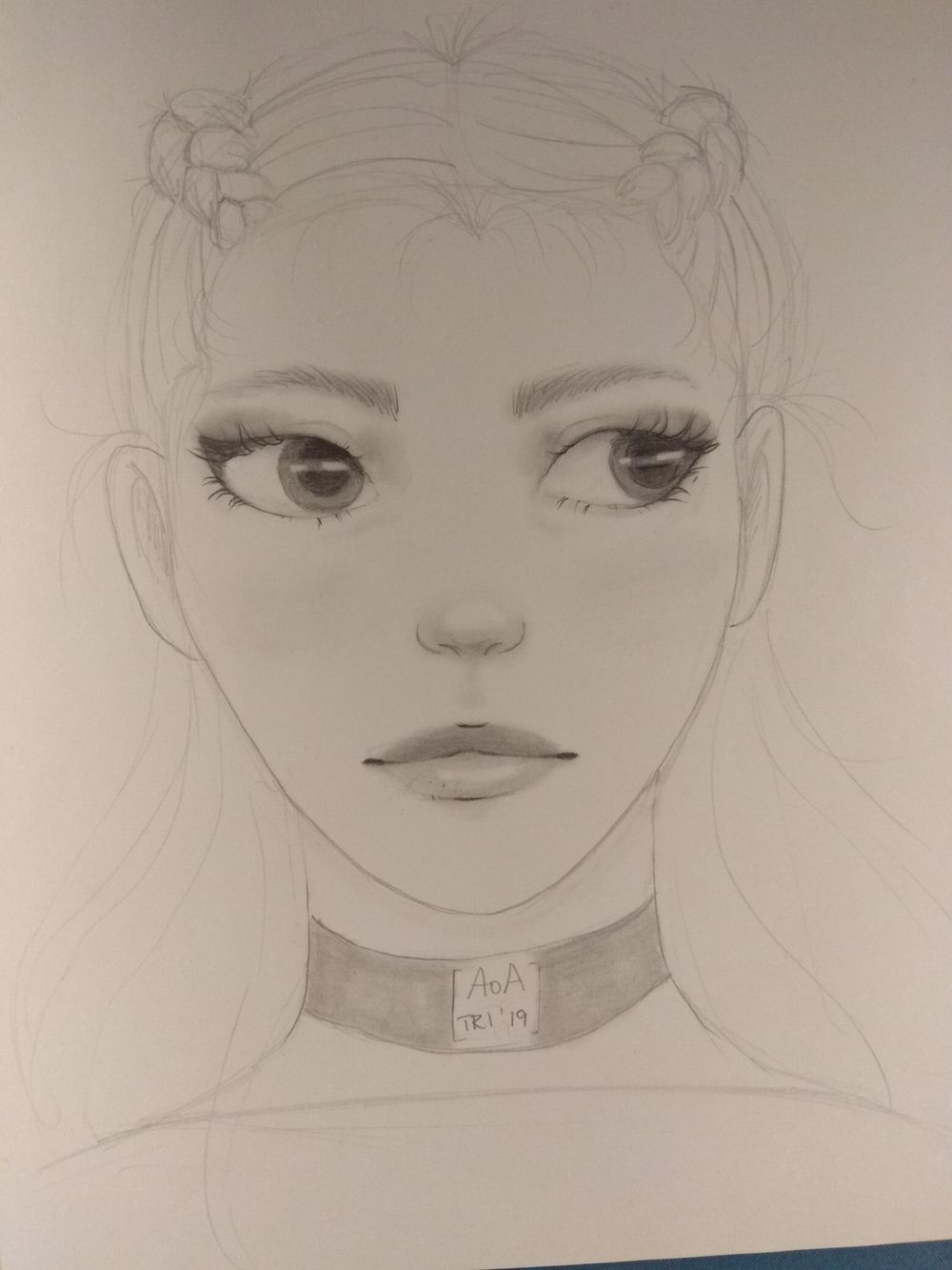 Sketching female characters - image 3 - student project