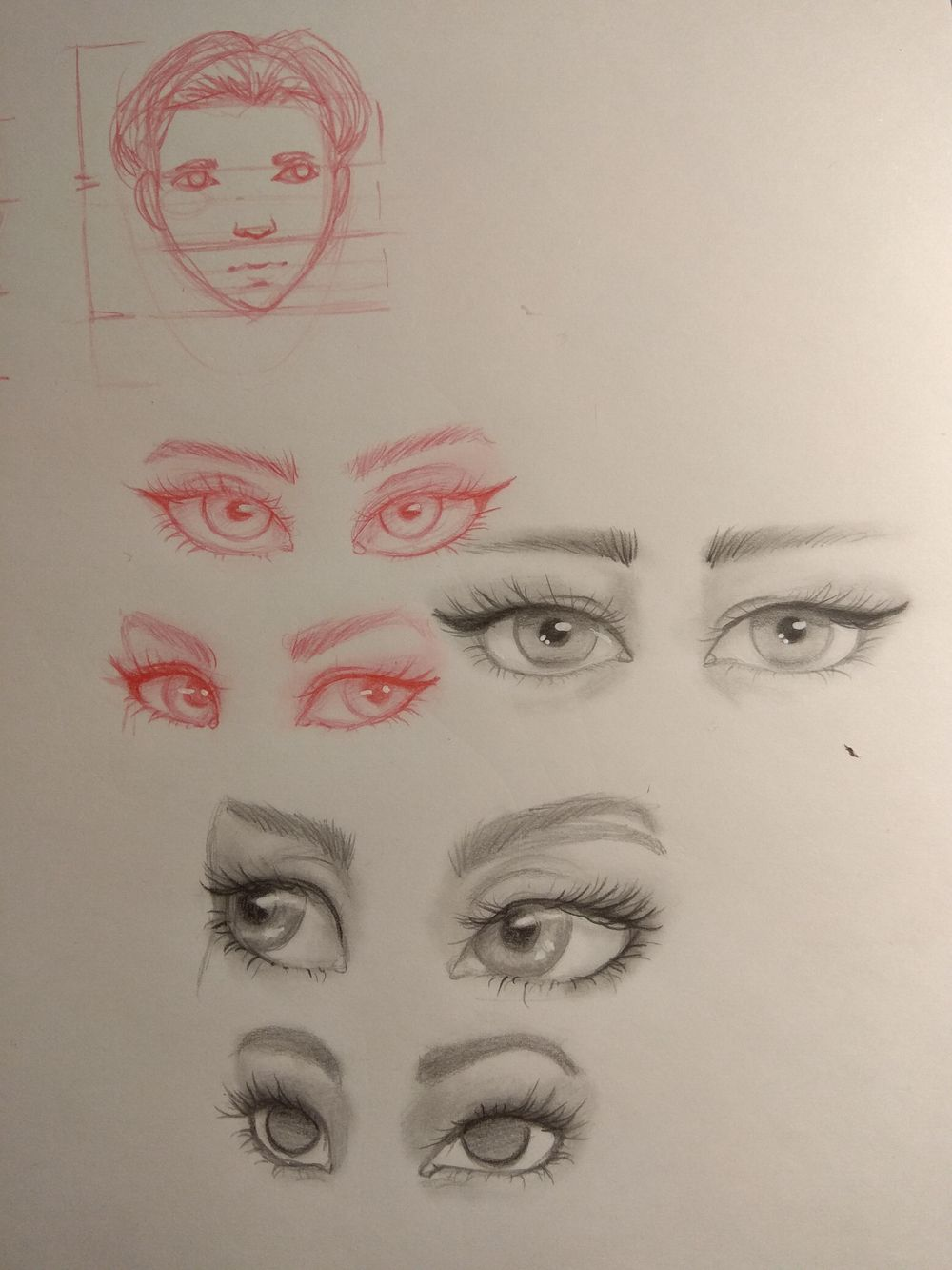 Sketching female characters - image 1 - student project