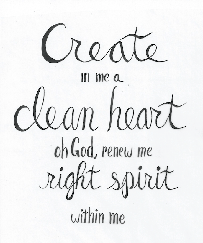 Psalm 51:10 - image 2 - student project