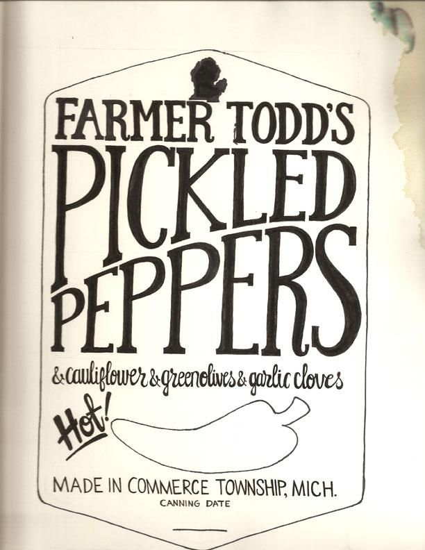 Farmer Todd's Pickled Hot Peppers and Mama Shellie's Zucchini Bread - image 17 - student project