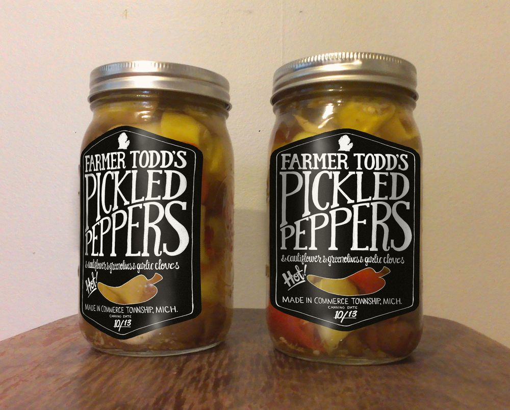 Farmer Todd's Pickled Hot Peppers and Mama Shellie's Zucchini Bread - image 19 - student project