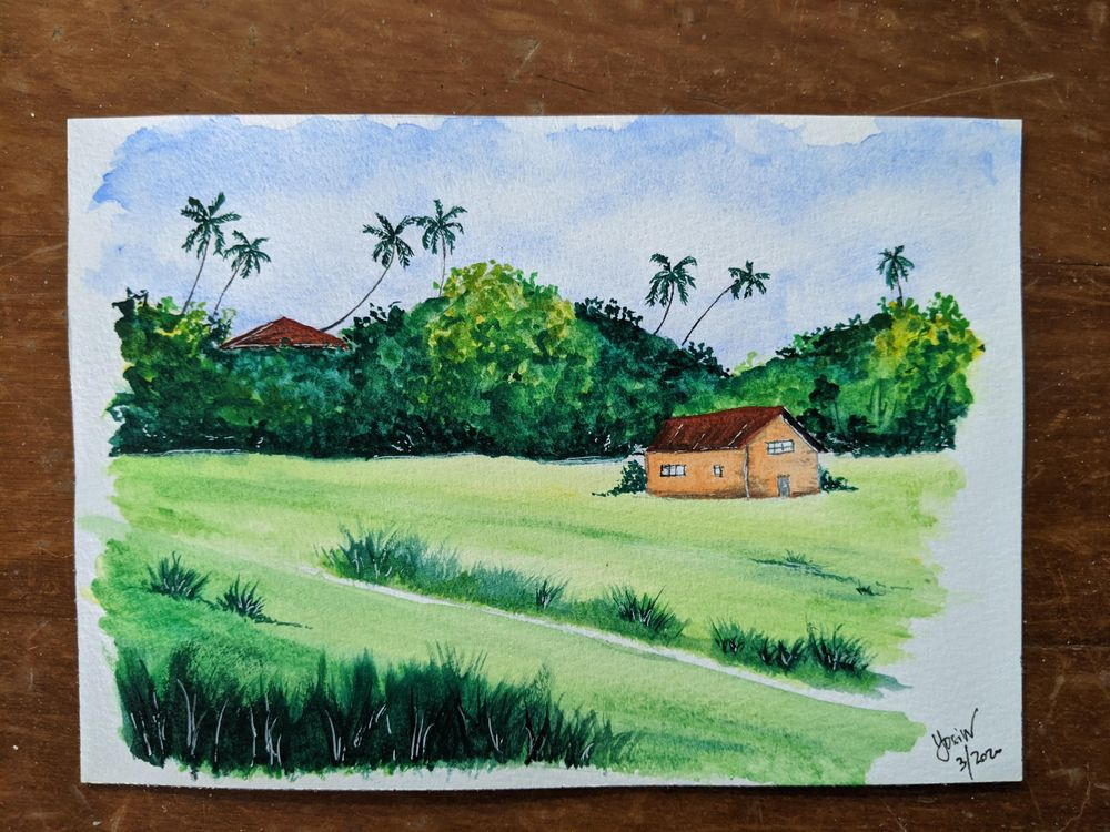 green landscape - image 2 - student project