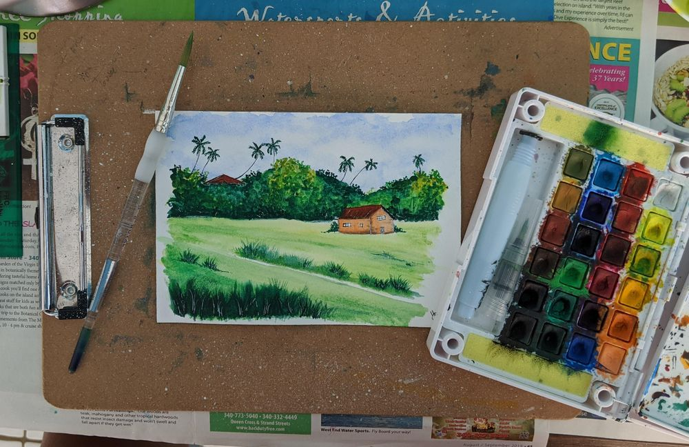 green landscape - image 1 - student project
