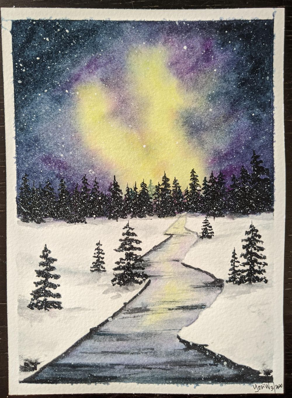 Winter Landscape - Snowy River - image 1 - student project