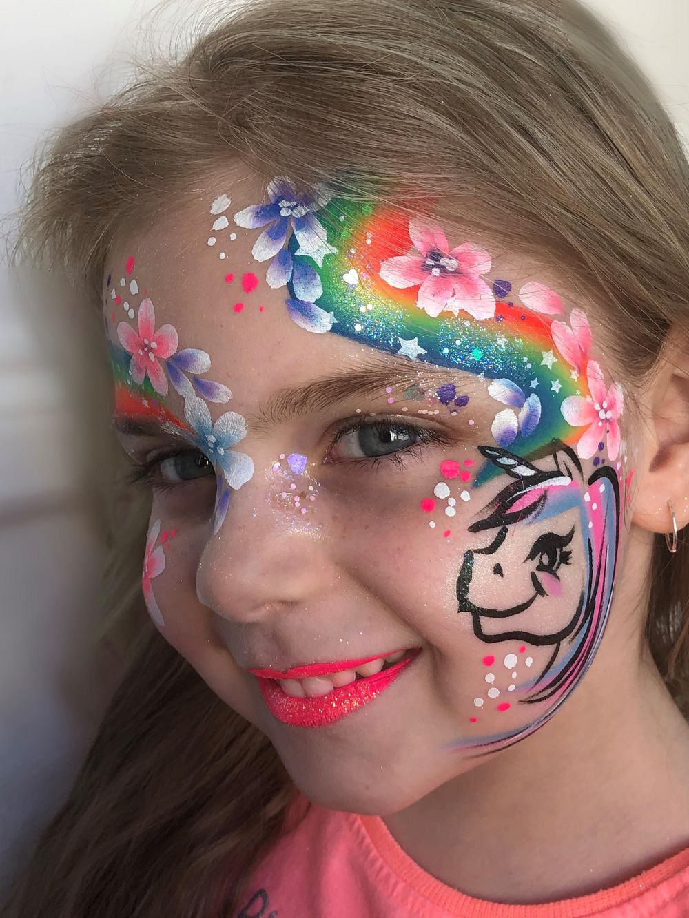 Not bad for a first try. #staysafe inspired rainbow face. - image 2 - student project