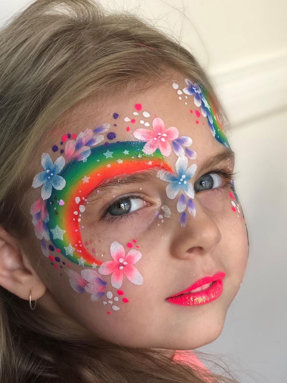 Not bad for a first try. #staysafe inspired rainbow face. - image 1 - student project