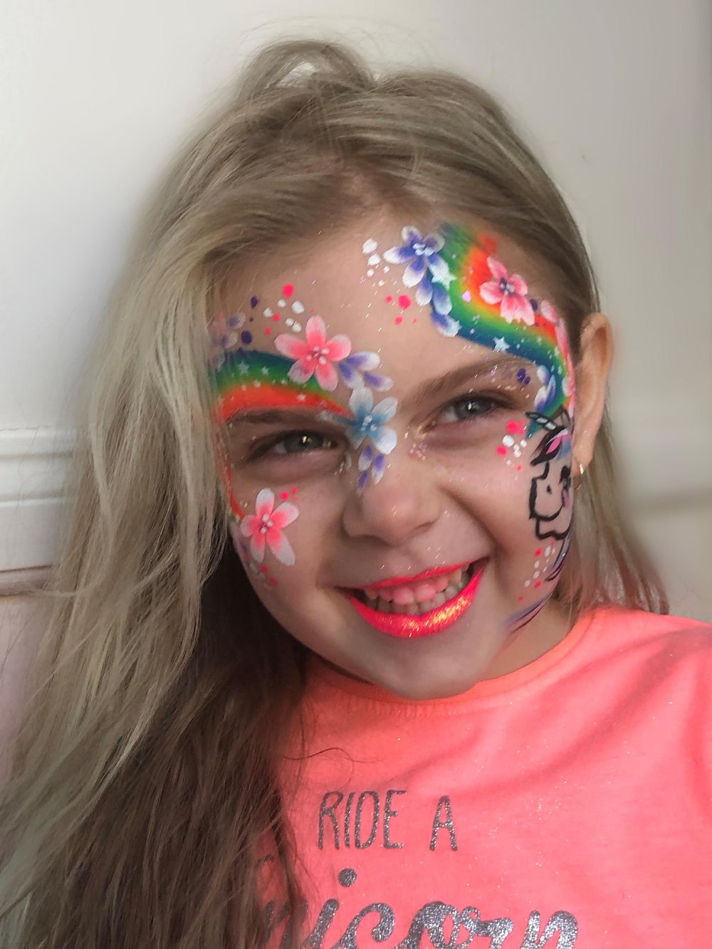 Not bad for a first try. #staysafe inspired rainbow face. - image 3 - student project
