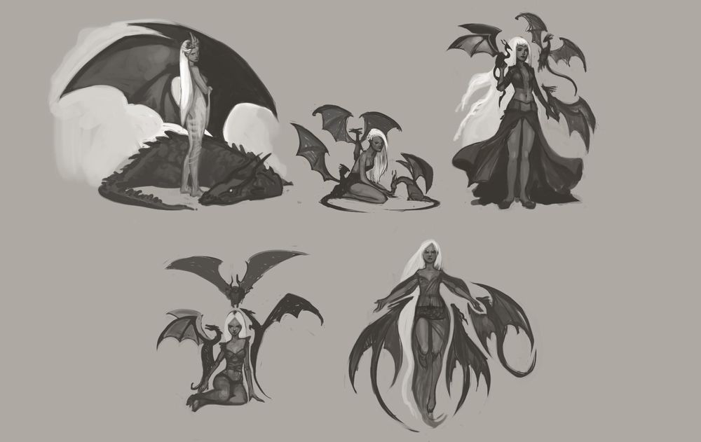 Character Concept Art Lesson  - Learning as much as possible - image 5 - student project