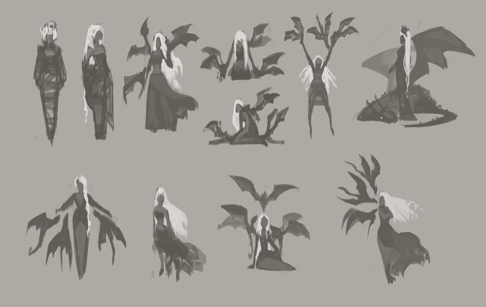 Character Concept Art Lesson  - Learning as much as possible - image 6 - student project