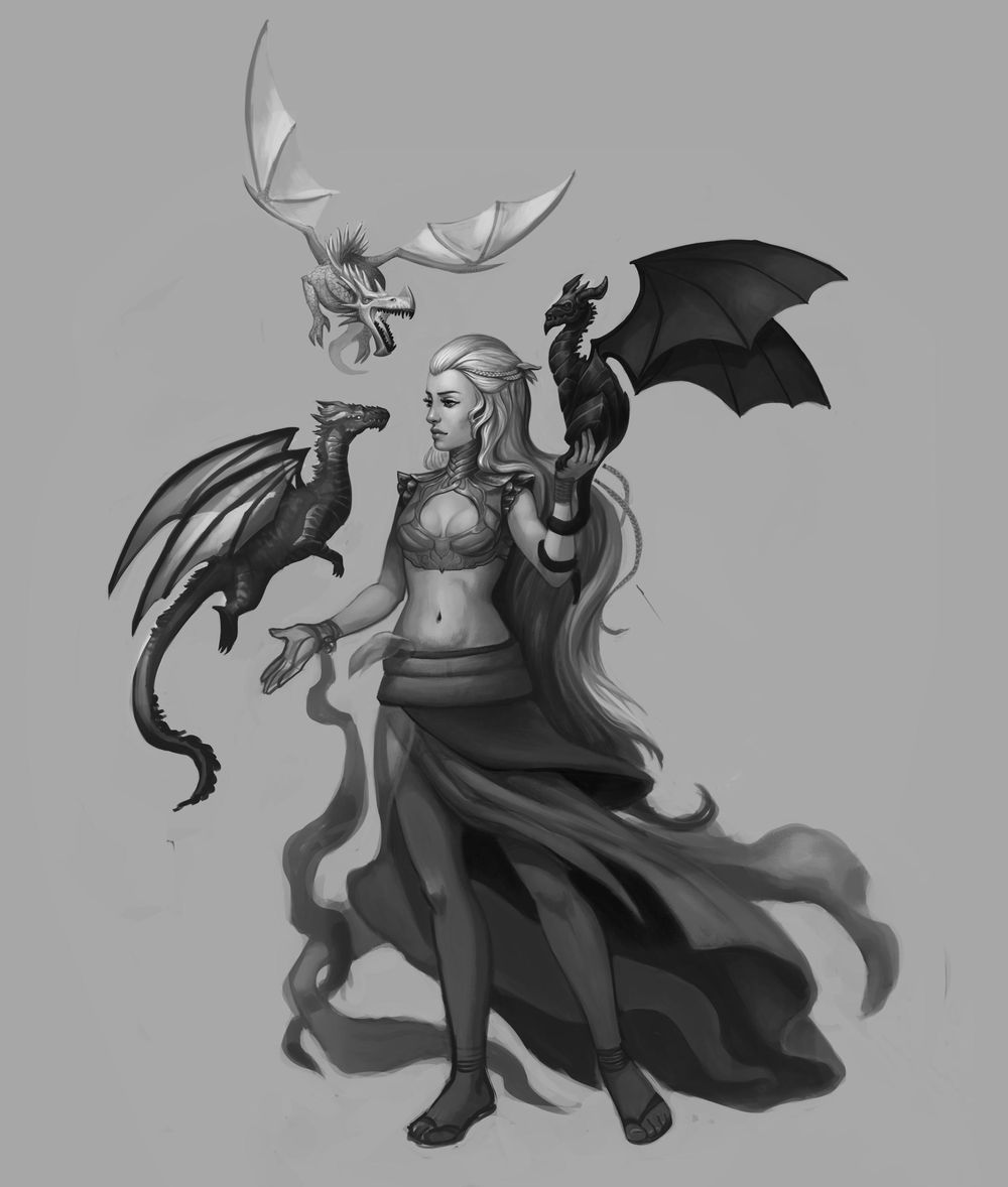 Character Concept Art Lesson  - Learning as much as possible - image 3 - student project
