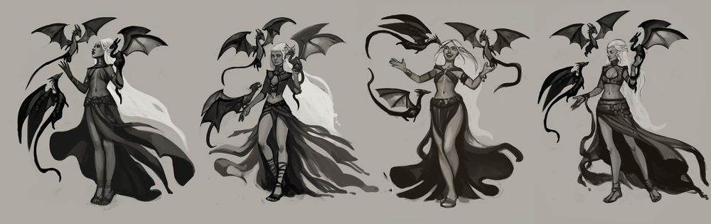 Character Concept Art Lesson  - Learning as much as possible - image 4 - student project
