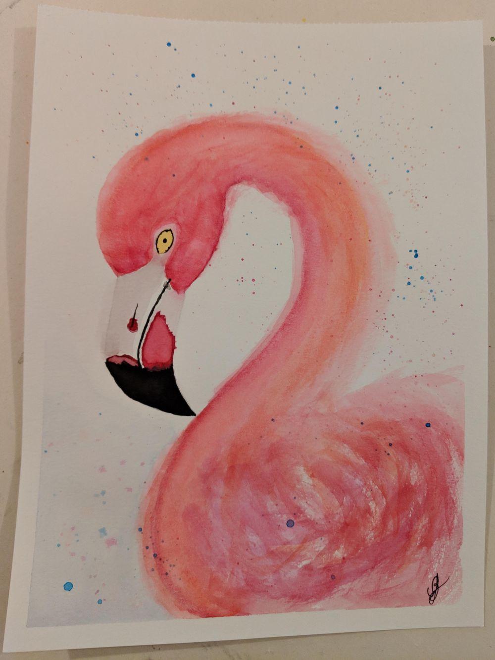 My flamingo - image 1 - student project