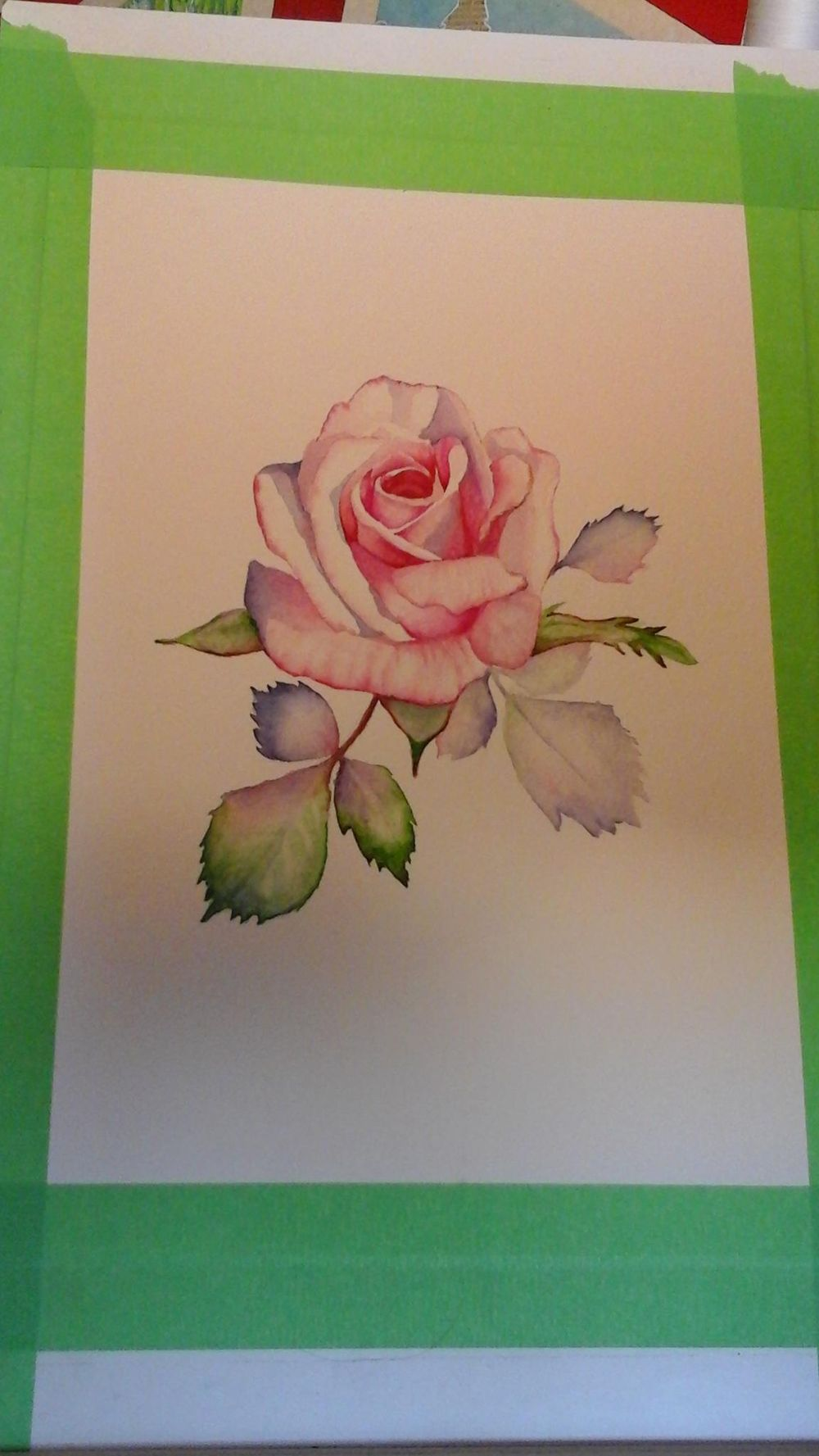 Pink rose - image 1 - student project
