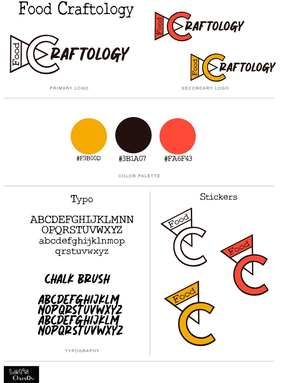Brand Board Food Craftology - image 1 - student project