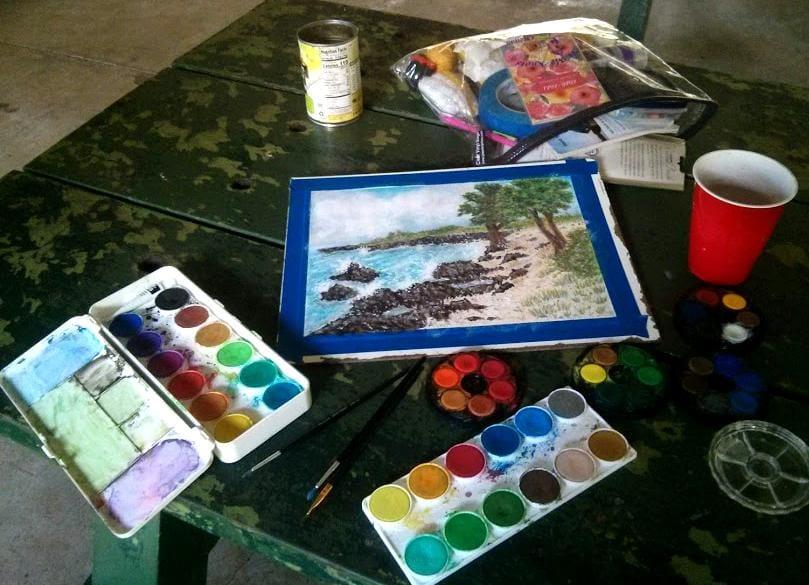 Watercolor Seascape Kona - image 2 - student project