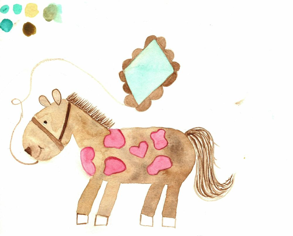 I can paint a horse. - image 4 - student project