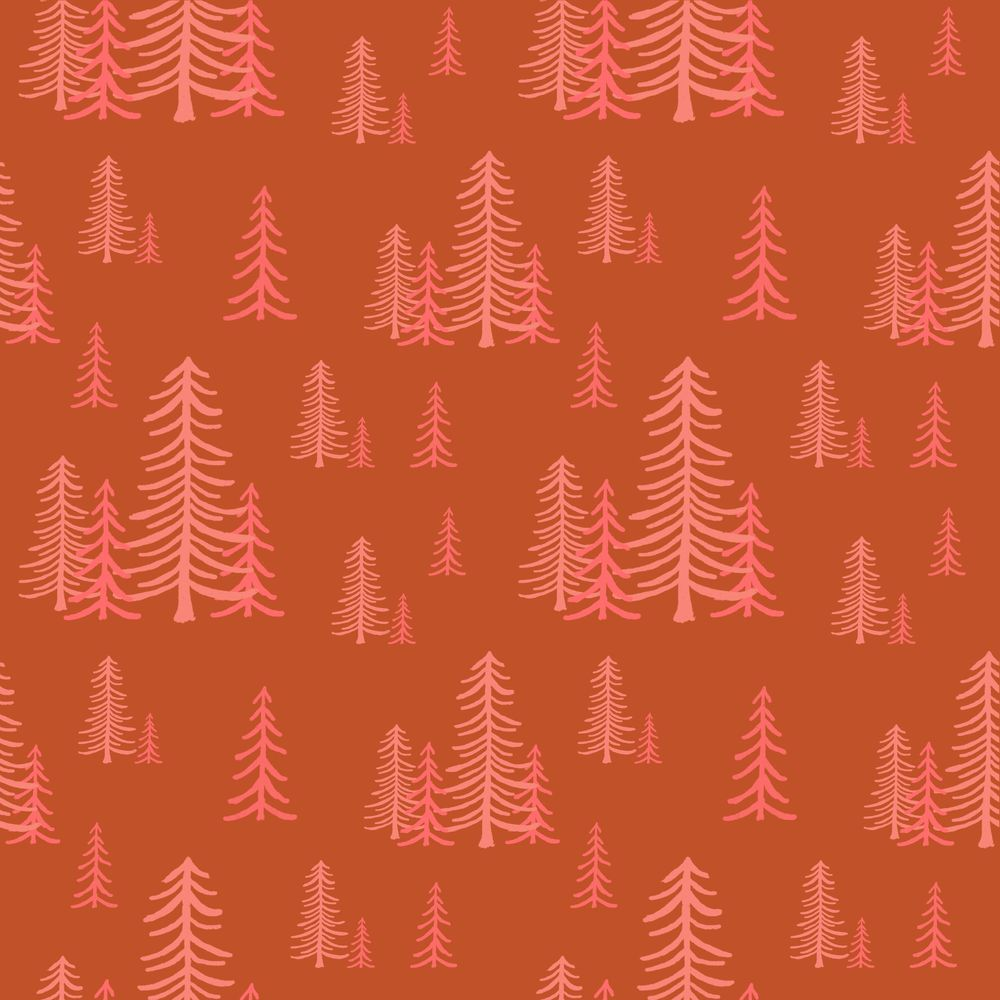 Seamless forest pattern - image 5 - student project