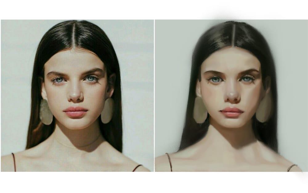 Portrait practice - image 5 - student project