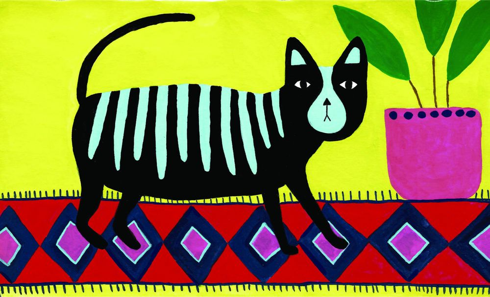 Fat Fluro Cat - image 2 - student project