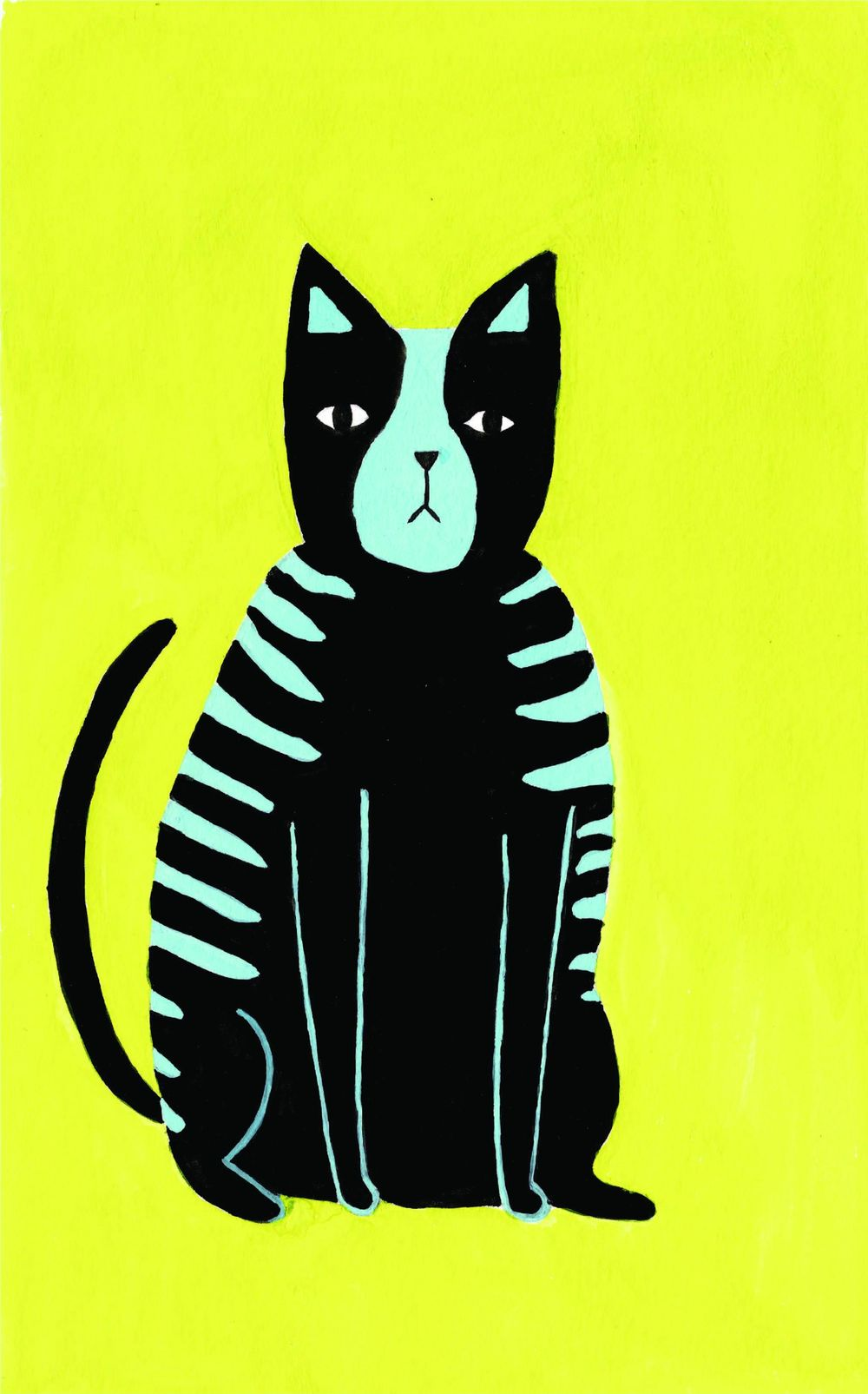 Fat Fluro Cat - image 1 - student project
