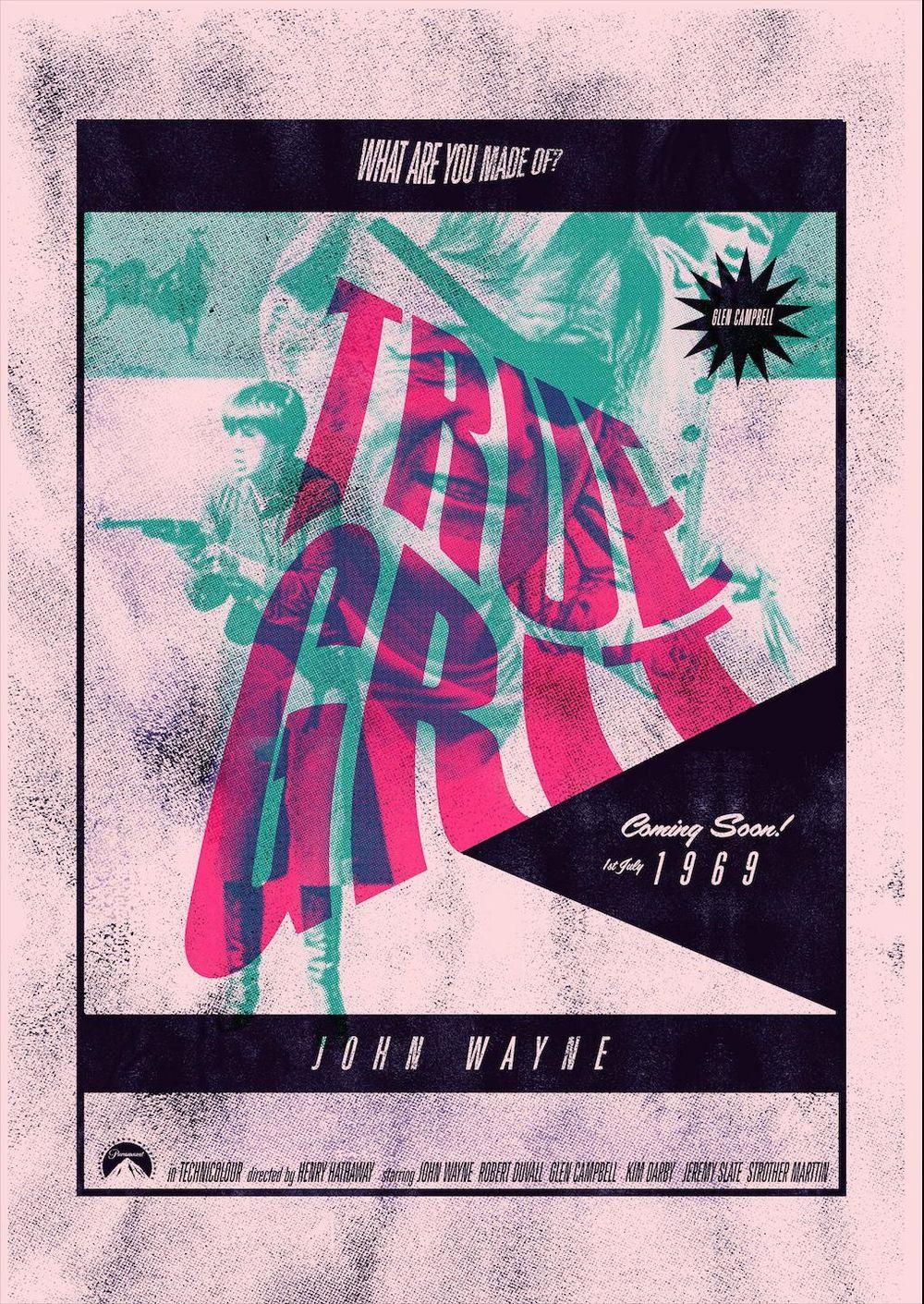 TRUE GRIT 1969  - image 1 - student project