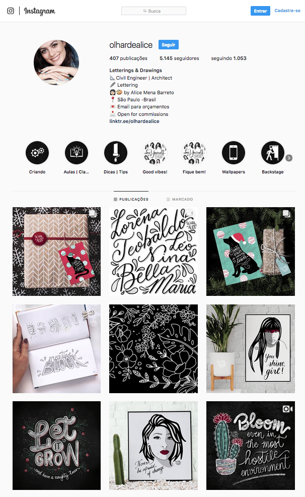 My insta account - image 1 - student project