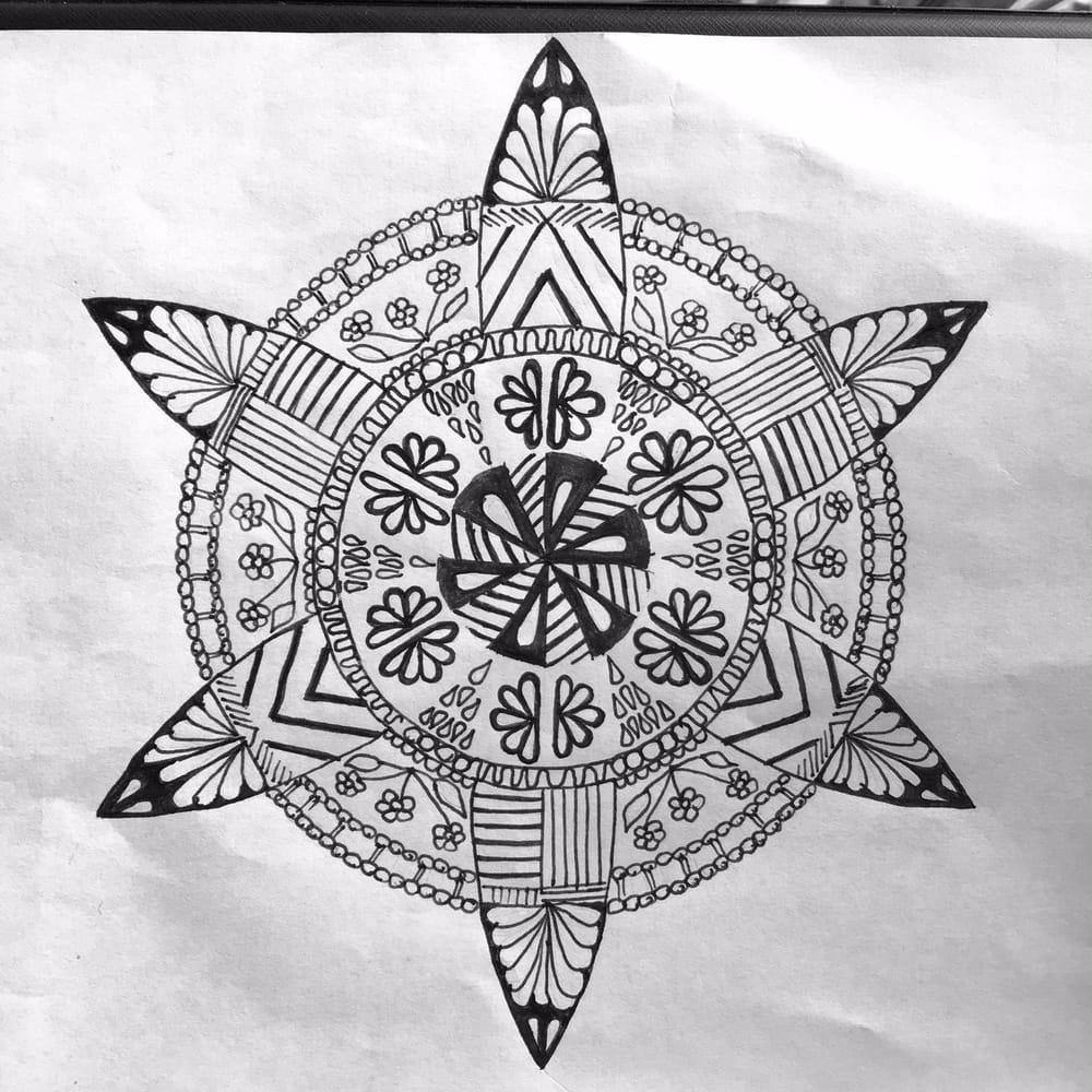 Sonya's Mandalas - image 2 - student project