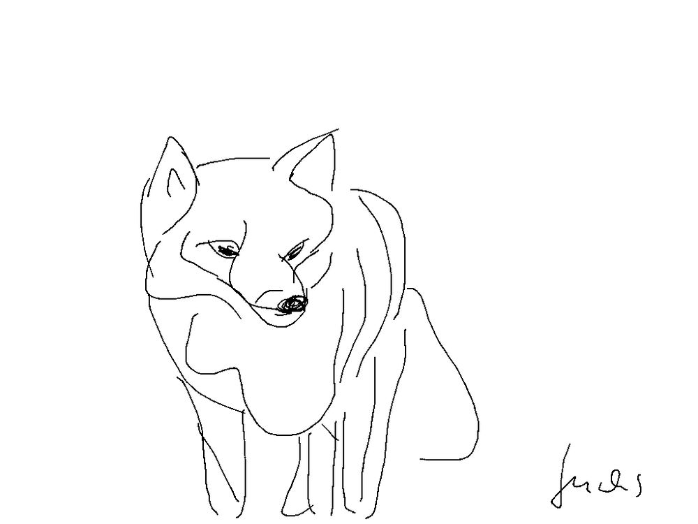 Creatures line drawing - image 2 - student project
