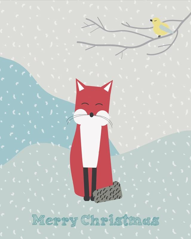 Foxy Christmas - image 2 - student project