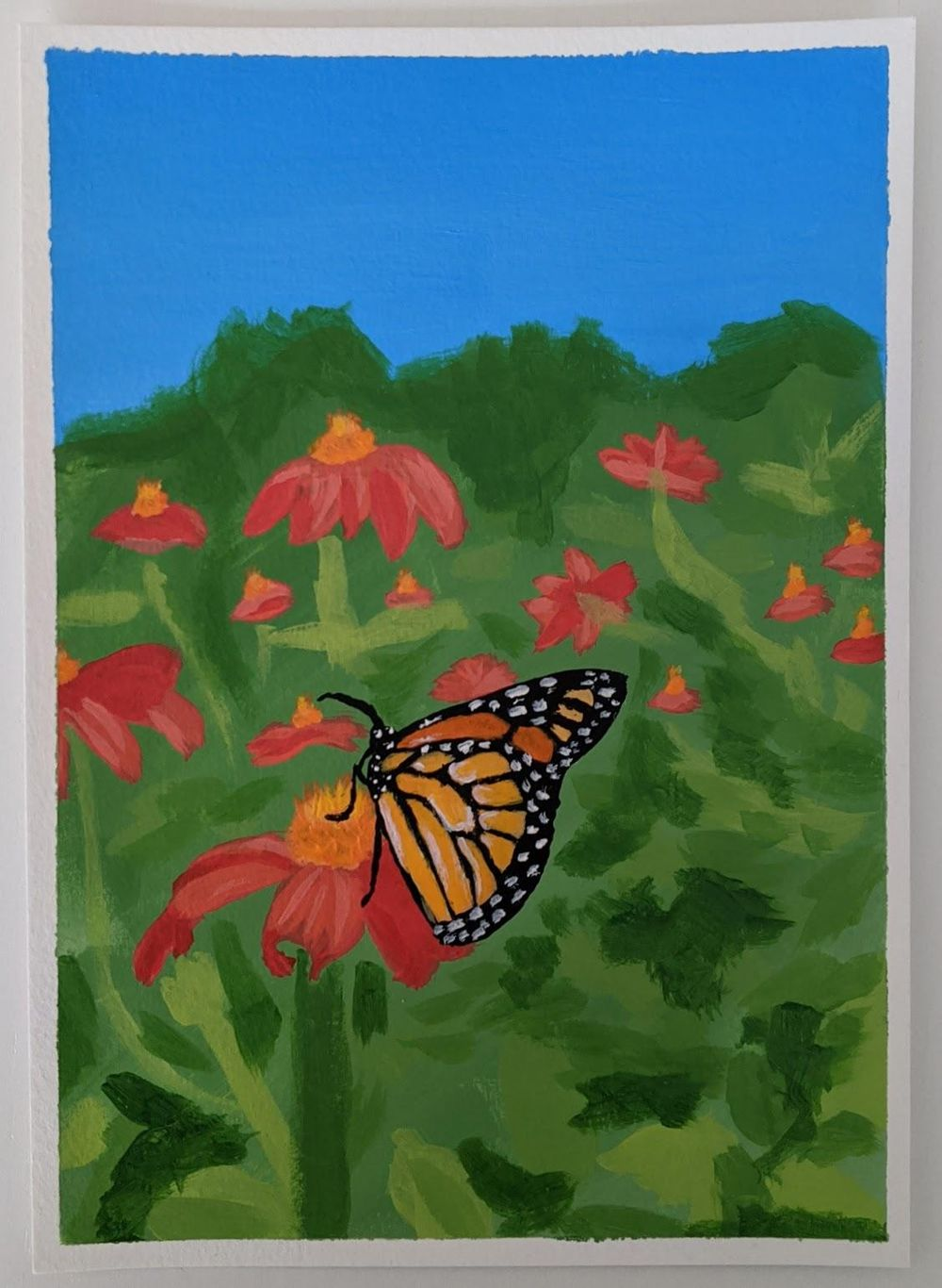 Monarch Butterfly - image 1 - student project